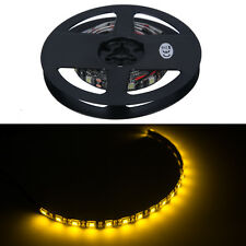 4 X 30cm 18 LED 5050 SMD Strip Lights Waterproo Flexible Strip Light Orange 12V
