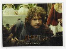 The Hobbit The Battle of the Five Armies - Base Card 86 Canvas Parallel 18/75