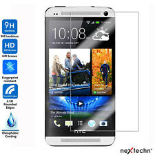 NextechnⓇ 2-Pack Tempered Glass Screen Protector for HTC One M7
