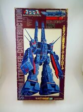 80's Takatoku Japan 1/3000 DX Macross SDF-1 In Box Robotech Battletech Orguss