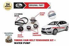 FOR SEAT IBIZA ST 1.4 16v 2010-2016 NEW TIMING CAM BELT KIT + WATER PUMP SET