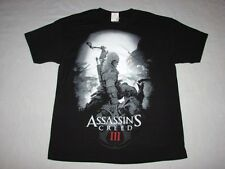 Asassin's Creed III ~ Official Ubisoft Video Game Shirt Size Large BRAND NEW