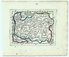 Carte ancienne DUVAL antique map 1670 PERSE Iran Ispahan Tabriz Khorasan 37