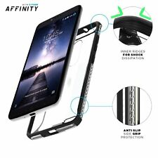 Poetic Affinity Thin Clear Shockproof Bumper Smart Case for ZTE ZMAX PRO Black