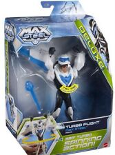 "NEW Max Steel Deluxe Turbo Flight Max Steel 6"" Figure DVD BGT86 Kid Game Collect"