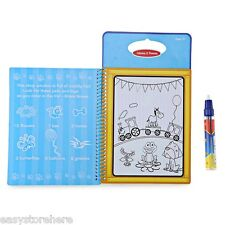 Magic Animal Water Drawing Book Toy Painting Board for Kids with Watercolor Pen