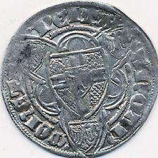 Mittelalter Köln Erzbistum  Friedrich II von Saarwerden Weißpfennig Silber #52