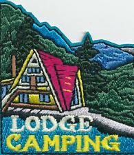 Girl Boy Cub LODGE CAMPING Camp Out trip Fun Patches Crest Badges SCOUT GUIDE