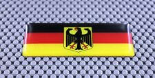 GERMANY  Deutschland FLAG 3D Decal Sticker With Coat of Arms of Germany