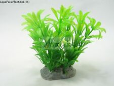 "(S26) 4"" Large Realistic Artificial Plants for Aquarium/Fish Tank (SHIP FROM US)"