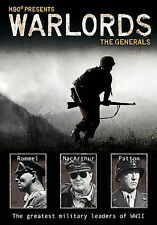 DVD HBO Presents Warlords: The Generals Rommel MacArthur Patton-SEALED NEW