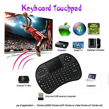 good Wireless Keyboard 2.4G with Touchpad Handheld Keyboard for PC Android TV D~