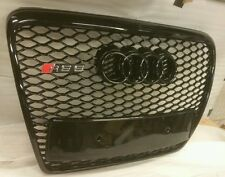 AUDI RS6 GRILL A6 TO RS6 S6 C6 SE SLINE BLACK TRIM, CHROME OR BLACK AUDI front