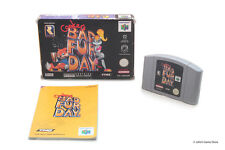 Conker's Bad Fur Day Nintendo 64 N64 PAL GAME BOXED COMPLETE