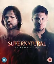 Supernatural Series Complete Seasons 1-10 Collection New DVD Box Set Region 4