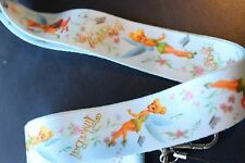 TINKERBELL light blue Lanyard Neck Strap Keychain ID Badge Holder PETER PAN
