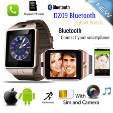 Newest Bluetooth DZ09 Smart Watch With Camera SIM For Android iPhone Samsung HTC