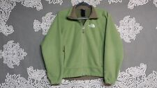 The North Face Women's Solid Green WindWall Fleece Jacket Sz S Polyester