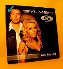 Cardsleeve single CD Sylver Livin' My Life 2TR 2003 Regi Milk Inc Belgium Trance
