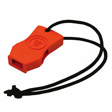 Ultimate Survival Technologies JetScream Micro Whistle Orange Pea-Less Signal