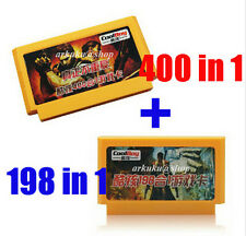Hot 198 in 1 & 400 in 1 Video Game Console 8 bit for Famicom Retro Classic Games