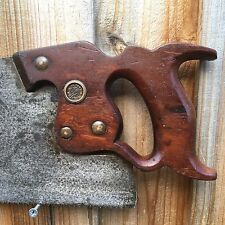SHARP! Vintage Hand Tools DISSTON D8 SAW 11pt Xcut Handsaw Old Antique Tools #93