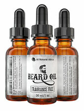 Bear Oil - All-Natural and Organic Leave-In Conditioner for Men - Fragrance Free