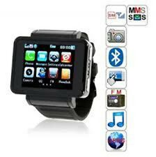NEW k1 iwatch GSM Quadband Watch Mobile Phone 1.8 inch Camera Flashlight Compass