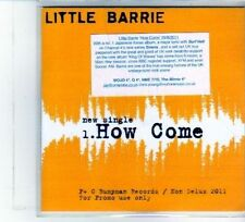 (DU663) Little Barrie, How Come - 2011 DJ CD