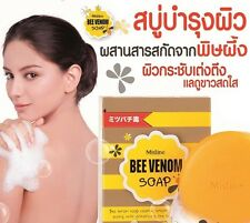 70g MISTINE BEE VENOM SOAP BODY FIRMING ANTI-AGING WRINKLE FACIAL FACE UNISEX