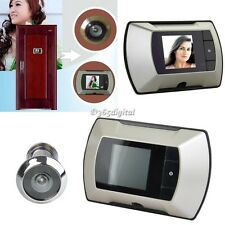 "2.4"" LCD Visual Monitor Door Peephole Cat Eye Peep Hole Wireless Viewer Camera"
