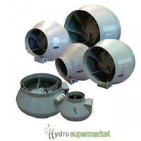 "SYSTEM AIR RVK EXTRACTOR FANS 4"" 5"" 6"" 8"" 10"" 12"" - 100-315MM - HYDROPONICS"
