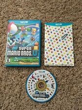 New Super Mario Bros. U (Nintendo Wii U, 2012) Complete! Plays Great!