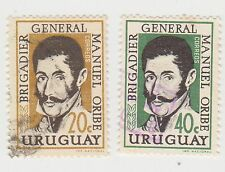 (UG-361) 1960 Uruguay 2set Presedent M.ORIBE