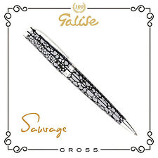 Cross Sauvage, penna a sfera, sauvage smoke stingray, Ballpoint Pen, palladium