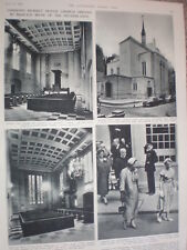 Photo article Princess Irene Netherlands reopens London Dutch Church 1954  rfO54