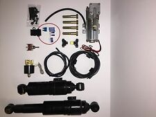 Harley Davidson Air Ride Suspension Protected air bag system