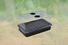 "Plant Propagation Cloning Kit: Humidity Dome, tray and inserts! 15"" x 9"" x 8"""