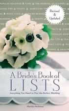 A Bride's Book of Lists : Everything You Need to Plan the Perfect Wedding by...