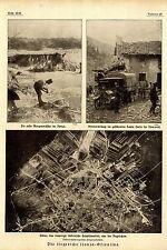 Cinque riprese dalla vittoria ricchi Isonzo-Battaglia di 1917 * ww1