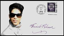 Ltd. Edt. Prince Rogers Nelson Purple Rain Commemorative Envelope repro auto.
