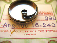 """ANGELUS 16""""LINE MODEL 240 8 DAY SWISS MADE REPLACEMENT MAINSPRING FOR TIME"""