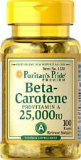 BETA CAROTENE     ****GIANT 100 SOFTGELS 25,000iu**** FREE POSTAGE