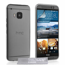 Yousave Accessories For The HTC One M9 Ultra Thin Clear Silicone Gel Case Cover
