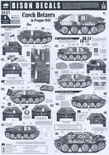 Bison Decals 1/35 CZECH HETZER TANKS IN PRAGUE 1945