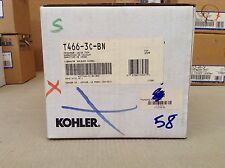 Kohler K-T466-3C Memoirs Pressure Balancing Valve Trim-CROSS HANDLE- NICKEL