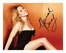MARIAH CAREY SIGNED AUTOGRAPHED A4 PP PHOTO POSTER A