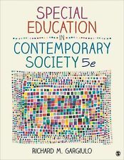 SPECIAL EDUCATION IN CONTEMPORARY SOCIETY  - RICHARD M. GARGIULO (PAPERBACK) NEW