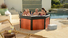 Spa-N-A-Box 6' Reversible Portable Hot Tub Whirlpool Spa with TurboWave Massage