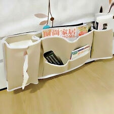 Useful Bedside Bed Pocket Bed Organizer Hanging Bag Phone Holder Storage Bag New